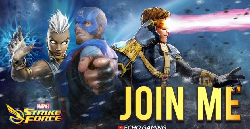 Join MY Alliance and take over the world in Marvel Strike Force by ECHO Gaming