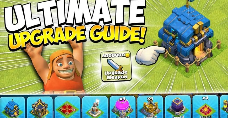 New to TH12 Upgrade Guide! How to Start Town Hall 12 in Clash of Clans by Kenny Jo
