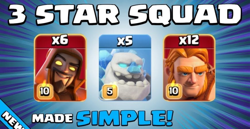 This SUPER GIANT + SUPER WIZARD Attack = UNSTOPPABLE! TH13 Attack Strategy   Clash of Clans by Sir Moose Gaming