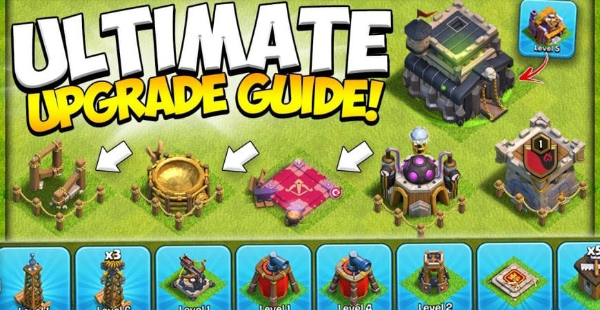 New Town Hall 9 Beginners Guide! How to Start TH9 Upgrade Priority for 2021 in Clash of Clans by Kenny Jo
