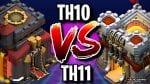 How To 3 star a TH11 as a TH10 in Clash of Clans by ECHO Gaming