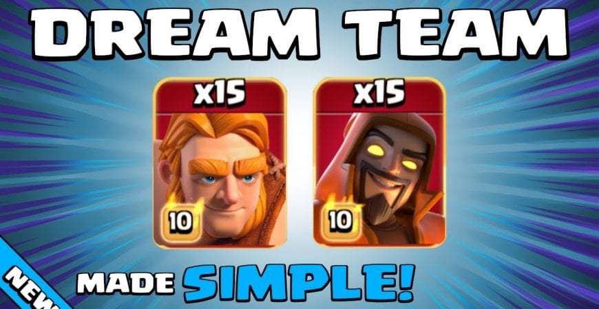 15 x SUPER GIANTS + 15 x SUPER WIZARDS = GAME OVER! BEST TH13 Attack Strategy   Clash of Clans by Sir Moose Gaming