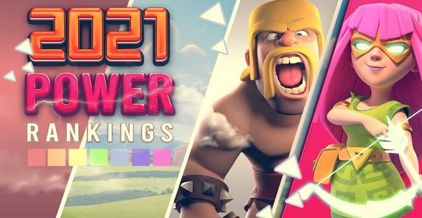 Power Rankings for All Troops in 2021 Clash of Clans by ECHO Gaming