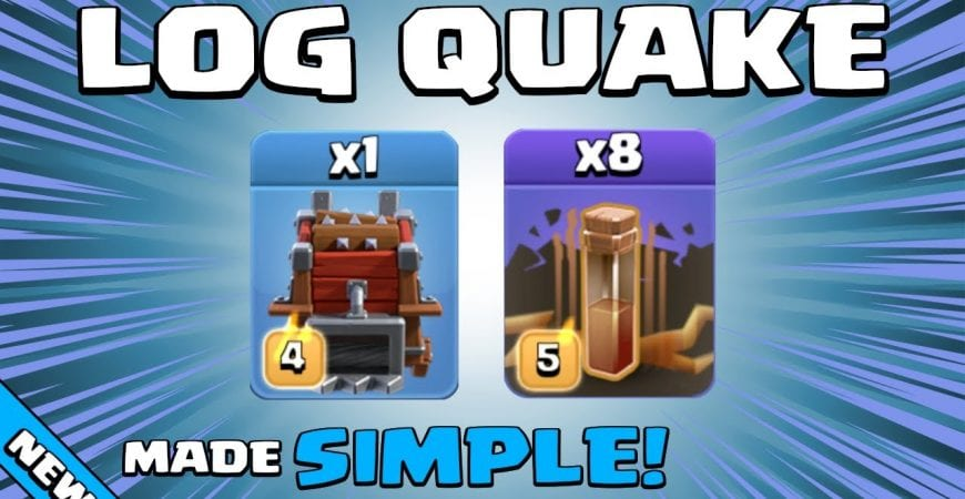 USING EQ SPELLS + LOG LAUNCHER MAKES IT ALMOST TOO EASY!!! TH12 Attack Strategy | Clash of Clans by Sir Moose Gaming