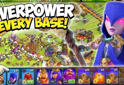 Mass Witch Army CANNOT Be Stopped! Easiest TH11 Spam Attack Strategy in Clash of Clans by Kenny Jo