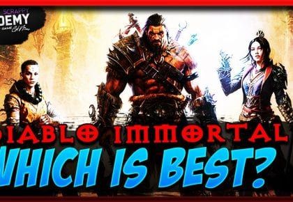 Diablo Immortal Wizard Barbarian Monk Gameplay | Which is Best? by Scrappy Academy