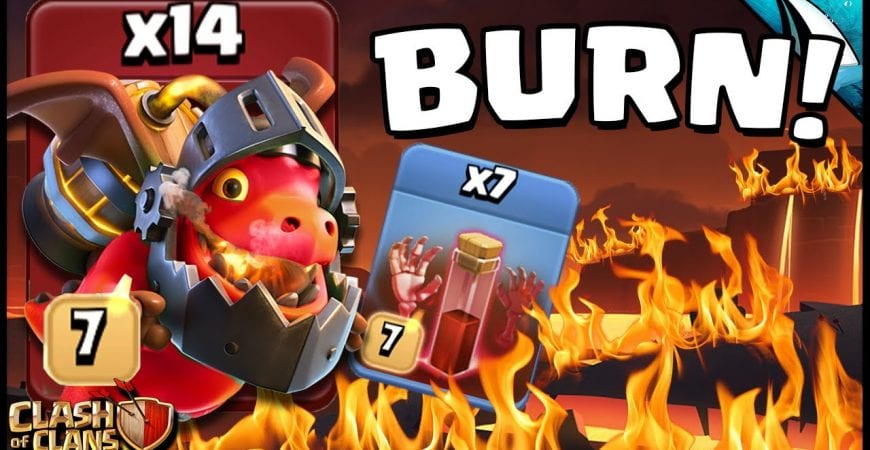 Inferno Skelly BURNING Bases!! by CarbonFin Gaming