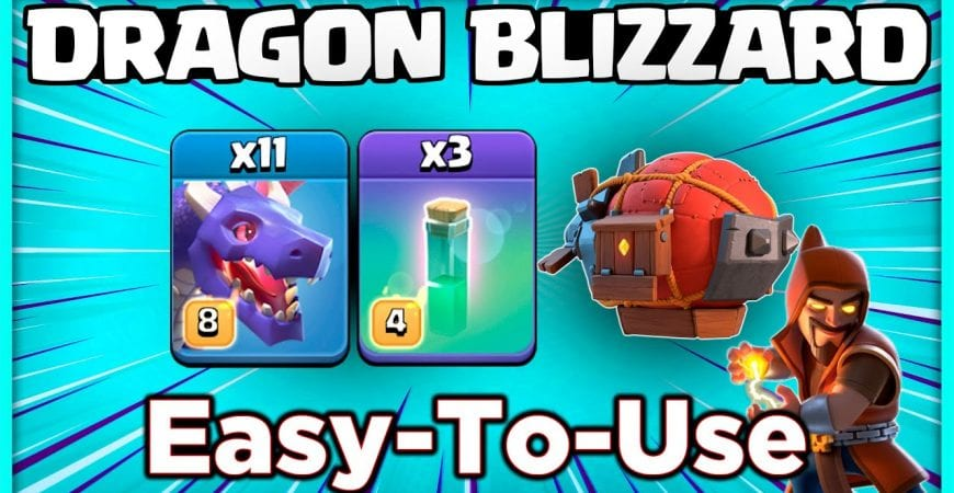 ONLY 3 STARS!!! NEW TH13 WAR ATTACK STRATEGY by @KagzGaming