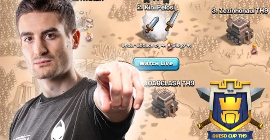 PRO PLAYERS USE BEST TH9 ATTACK STRATEGY IN CLASH OF CLANS | TH9 QUESO CUP GRAND FINALS by Clash with Eric – OneHive
