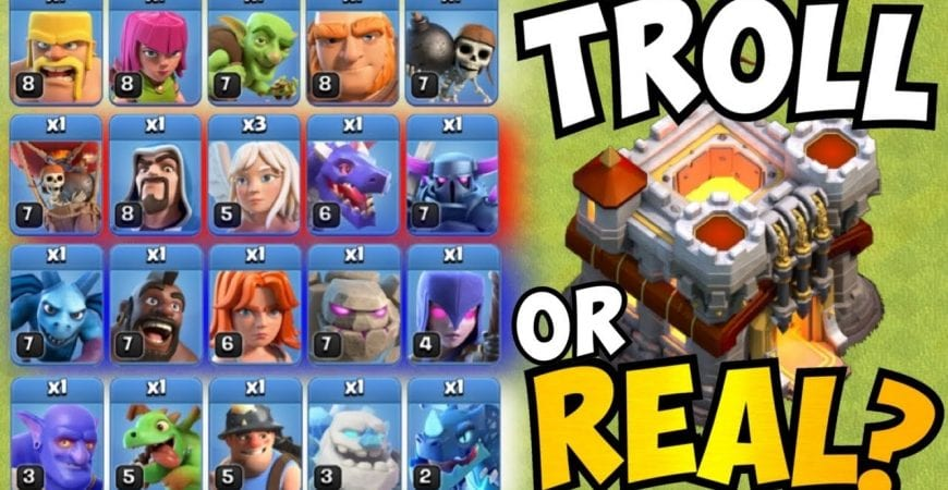 TROLL ARMY IS STRONGER THAN YOU THINK! ONE OF EVERY TROOP THEN TH11 CML GRAND FINALS! Clash of Clans by Clash with Eric – OneHive
