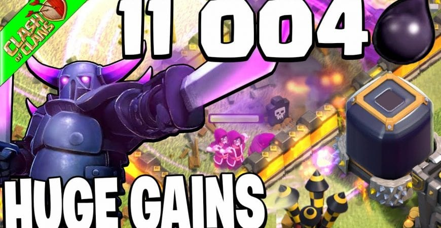 GUT the CORE for HUGE DARK ELIXIR Gains! -Clash of Clans by Clash Bashing!!