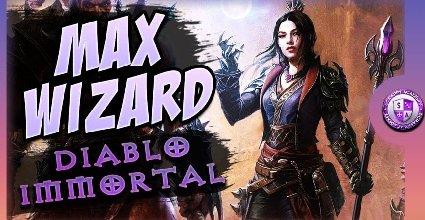 Diablo Immortal Wizard Gameplay | Elder Rift by Scrappy Academy