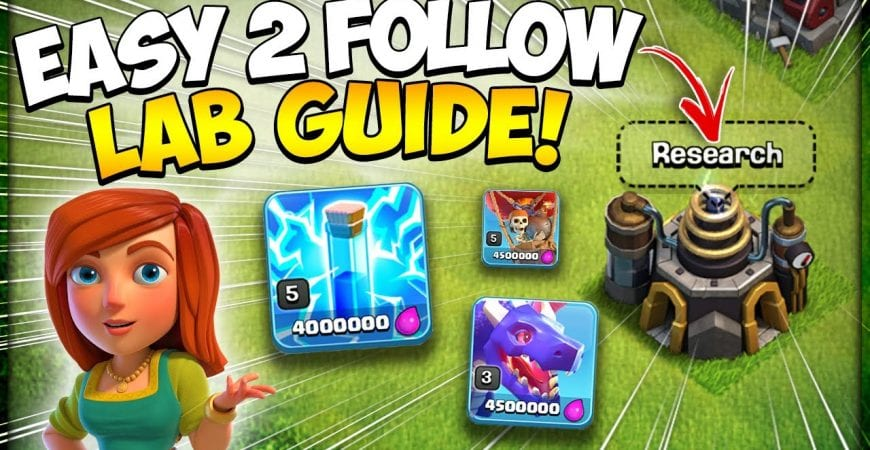 Updated Laboratory Guide for TH9 in 2021 | Best New TH 9 Loot Armies in Clash of Clans by Kenny Jo