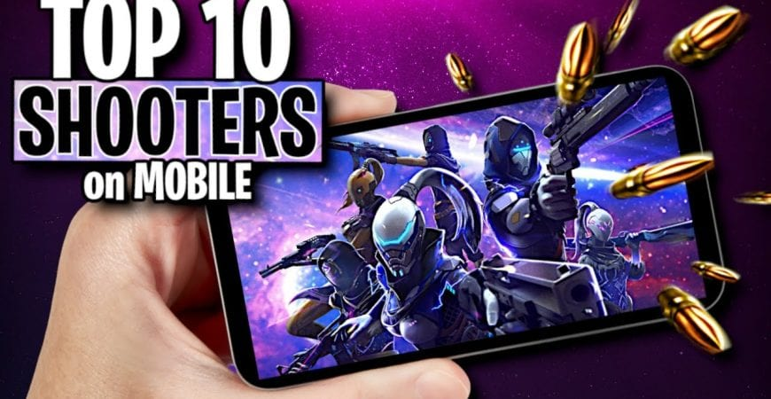 Top 10 Best Mobile Shooting Games by ECHO Gaming