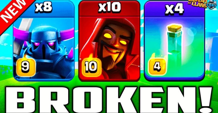 This new attack should be ILLEGAL! Best New Th 13 War Attacks in Clash of Clans 2021   COC by Clash With Cory