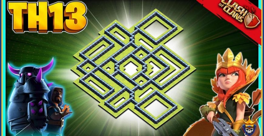 New Best TH13 Legend League Base Link   Th13 Trophy Base Link by @KagzGaming
