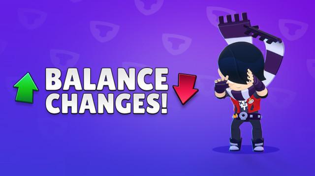 Balance Changes by Brawl Stars