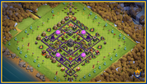 TH9 base layout , best ever only one you will ever need