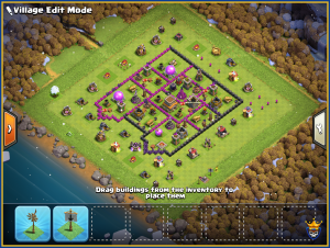 Hybrid town hall 8 layout for Crystal
