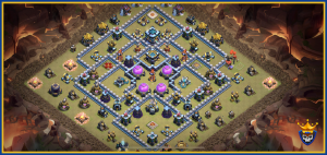 Anti 2 Star Pro Legend League Base