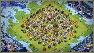Solid base for farming and war