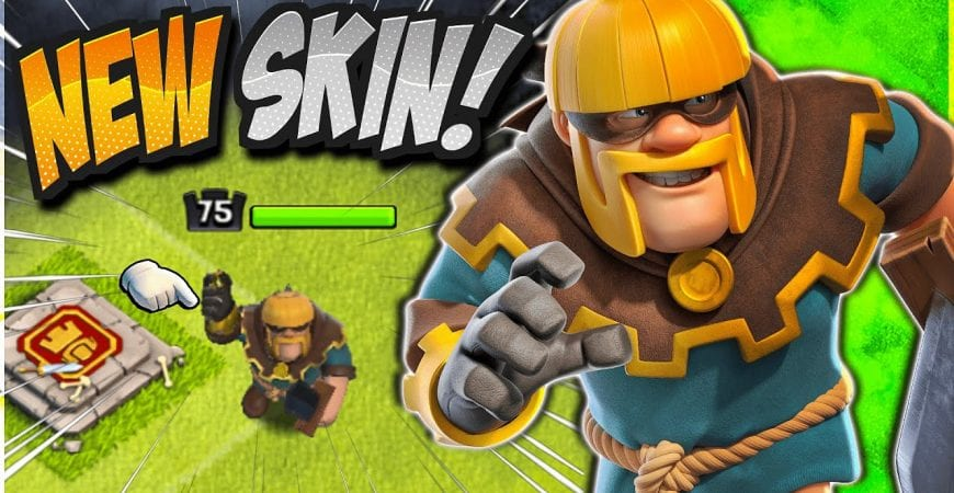 NEW Rouge King Skin! March 2021 Gold Pass Gameplay in Clash of Clans by CorruptYT