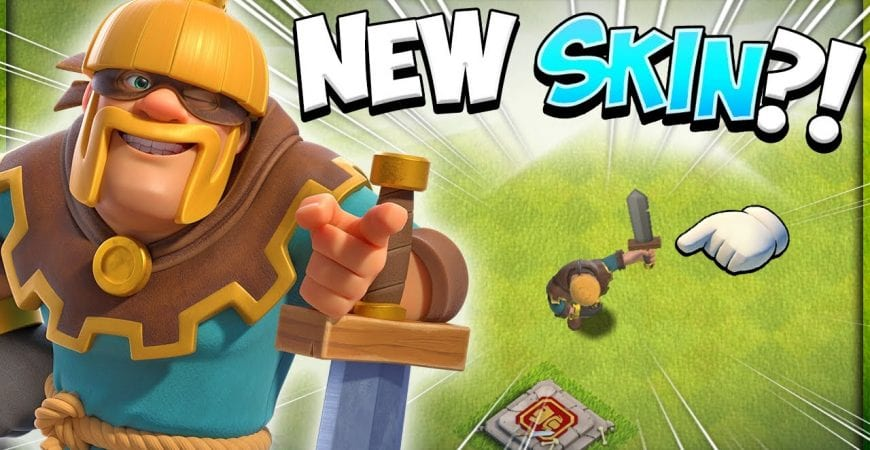 The Rogue King is Real?! March 2021 Gold Pass Hero Skin in Clash of Clans by Kenny Jo
