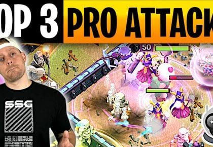 3 Strategies used by the SpaceStation Pros vs MCES (Clash of Clans) by ECHO Gaming