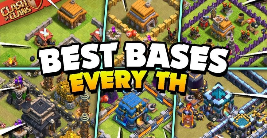 Best Bases for Every Town Hall Level (Clash of Clans) by Judo Sloth Gaming