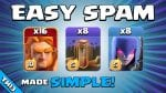 USE THIS EASY SPAM ATTACK TO GET 3 STARS! TH13 Attack Strategy | Clash of Clans by Sir Moose Gaming