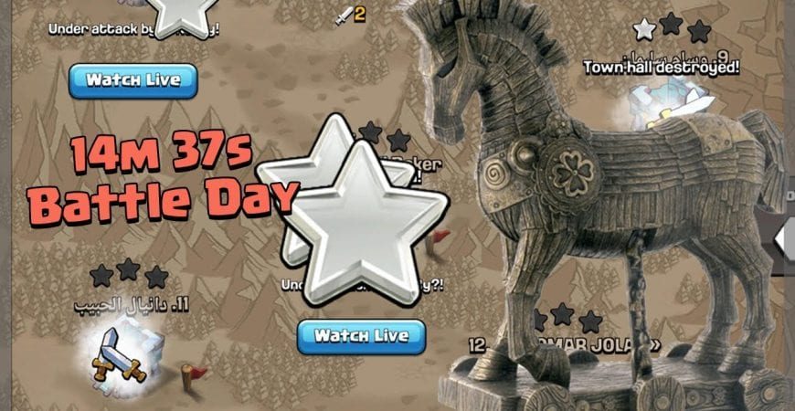 CAN WE WIN IN THE LAST 15 MINUTES?! – Clash of Clans by Clash Bashing!!