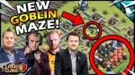 NEW MAZE Challenge vs YouTubers in Clash of Clans! by CarbonFin Gaming