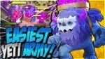 BEST TH12 Yeti Attack Strategy! How to Use Yeti BoBat (Clash of Clans) by CorruptYT