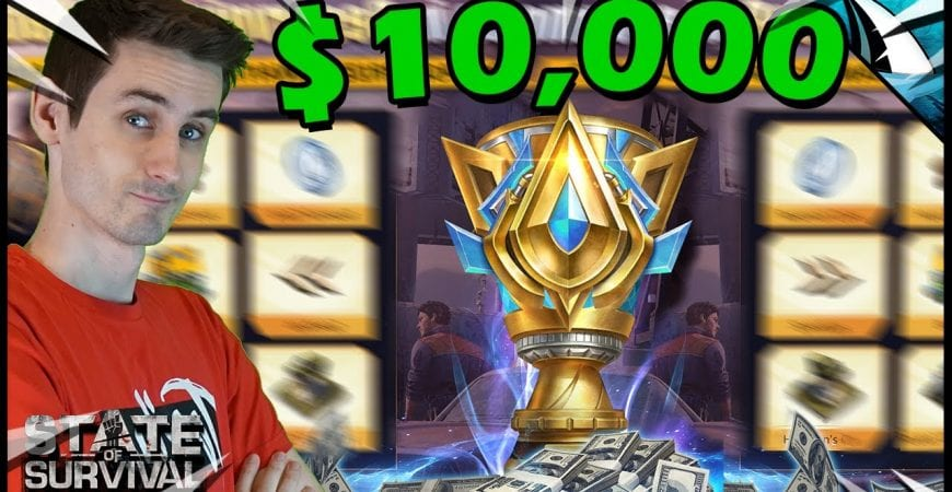 $10,000?!? Can we win in this raid in State of Survival? by CarbonFin Gaming