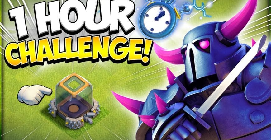 How Much Dark Elixir Can Pekka Steal in 1 Hour?! How to Farm Fast in Clash of Clans by Kenny Jo
