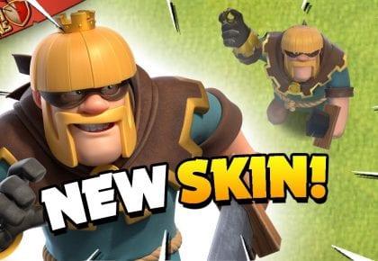New Rogue Barbarian King Skin and Future Predictions (Clash of Clans) by Judo Sloth Gaming