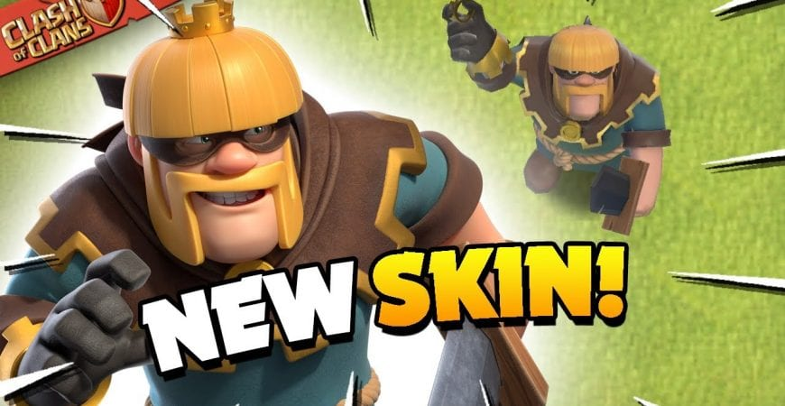 New Rogue Barbarian King Skin and Future Predictions (Clash of Clans) by Judo Sloth Gaming