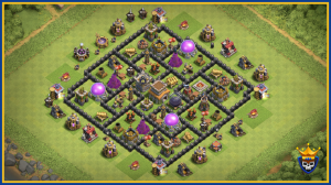 The Ultimate Town Hall 8 Base.