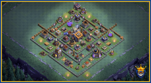 The Ultimate Builder Hall 9 Base.