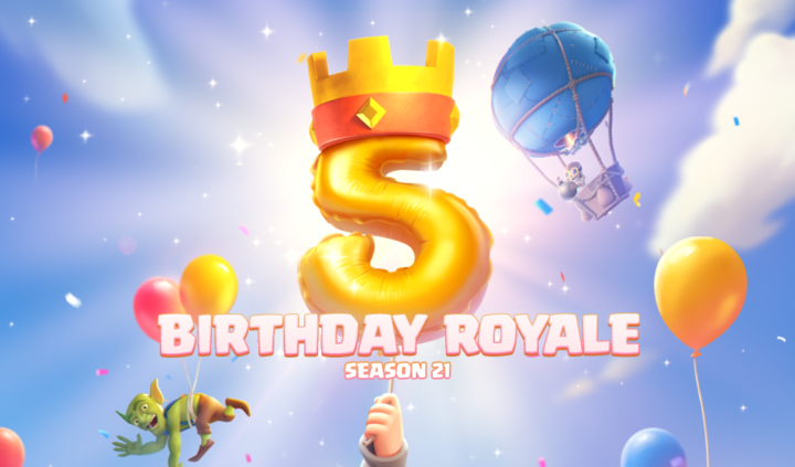 Clash Royale Turns 5! by Clash Royale