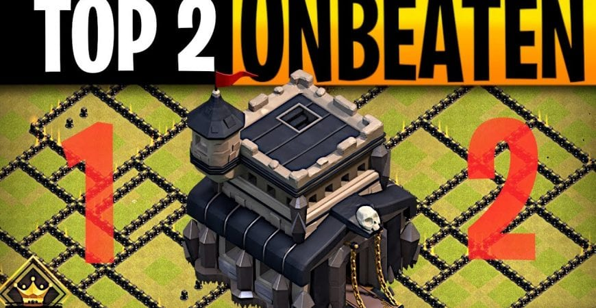 2 Town Hall 9 Bases that Could NOT be Beaten in War by ECHO Gaming