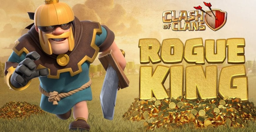 The Tale Of The Rogue King (Clash Of Clans Season Challenges) by Clash of Clans