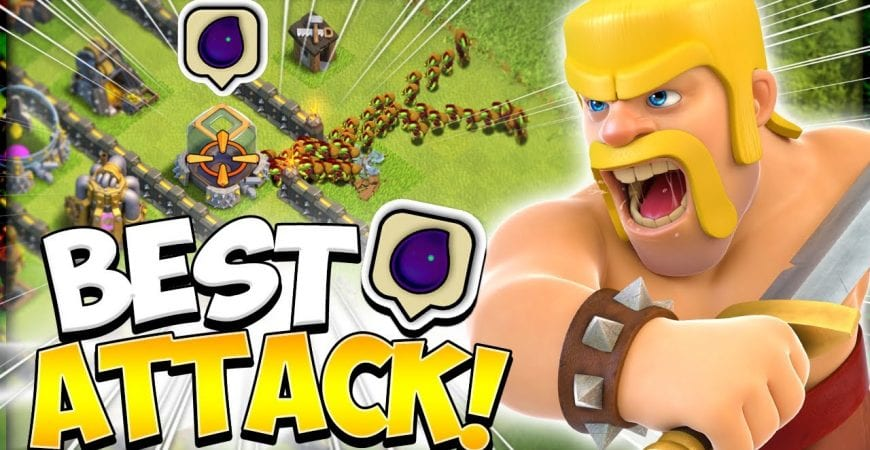 How to Goblin Knife at TH9 in 2021 | Easy Dark Elixir Farm Army in Clash of Clans by Kenny Jo