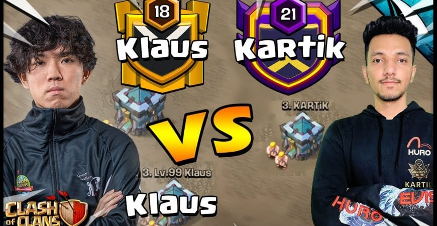 Klaus vs Darkest MuZhan in War! Can the worlds best player clutch it? by CarbonFin Gaming