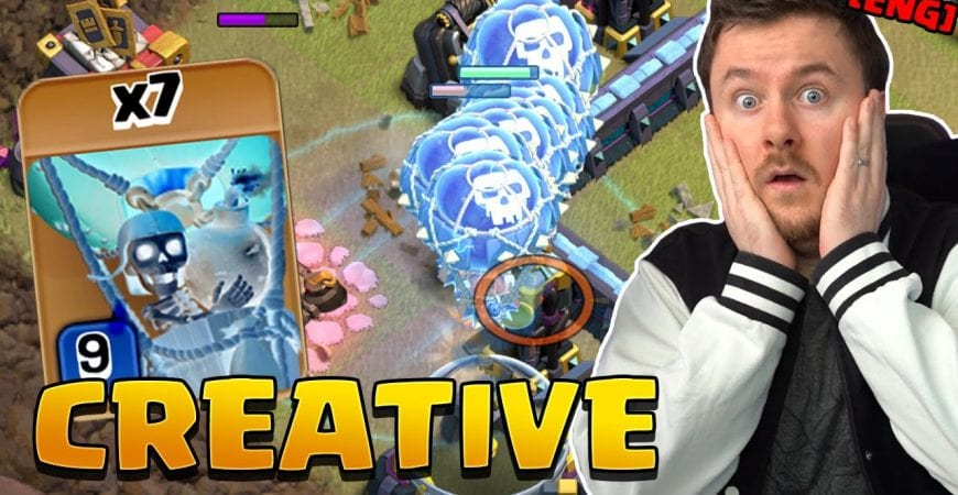 PRO PLAYER uses Clone Spell for Tesla Farm + Funnel ?! | #clashofclans by iTzu [ENG] – Clash of Clans