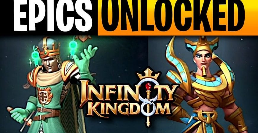 Infinity Kingdom 2 NEW EPIC Immortals Summoned by ECHO Gaming
