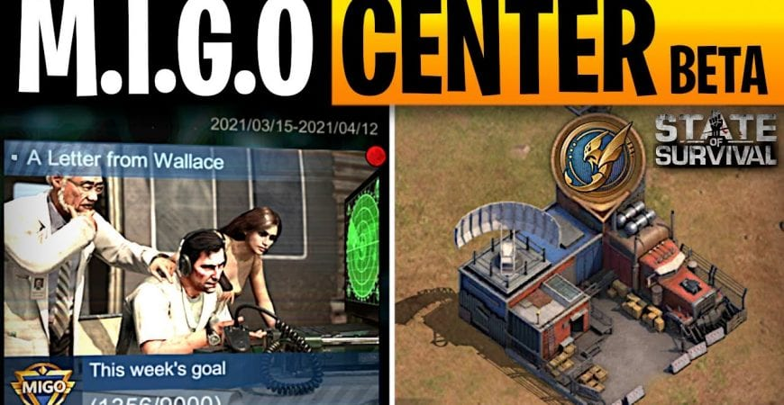 What is the MIGO Center in State of Survival by ECHO Gaming
