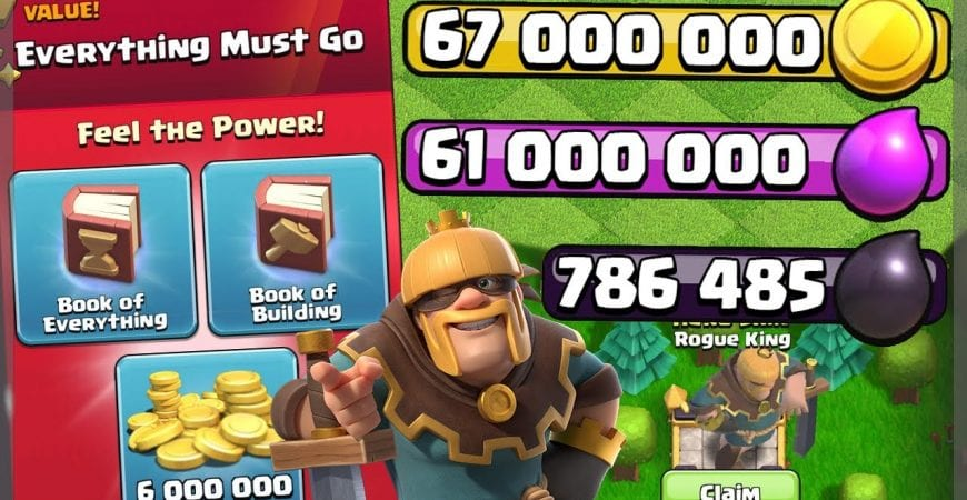 CRAZY SPENDING SPREE AFTER GEMMING THE GOLD PASS! – Clash of Clans by Clash Bashing!!