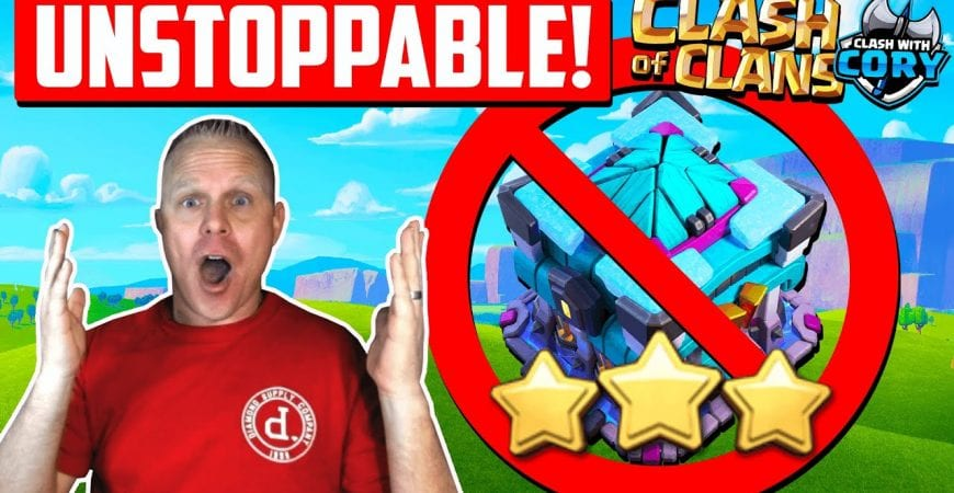 This army is like a CHEAT CODE in Clash of Clans ! Best TH 13 War Attacks by Clash With Cory