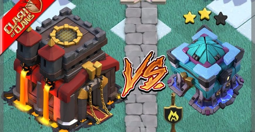 How to 2 Star TH13s as TH10! – Clash of Clans by Clash Bashing!!